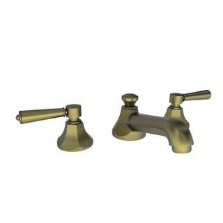 Newport Brass 1200 Metropole Widespread Bathroom Sink Faucet - Free Pop-Up Drain