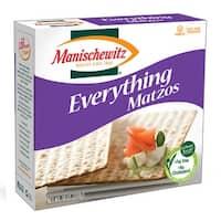 Manischewitz Matzo Everything - Case of 12 - 10 oz.