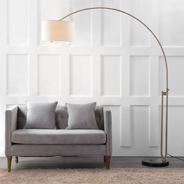 "Safavieh Lighting 84-inch Polaris LED Arc Floor Lamp - 69.5""x16""x84"". Opens flyout."