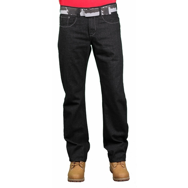 08ce4afdcb942 Shop Brooklyn Xpress Men's Fashion Jeans - Free Shipping On Orders Over $45  - Overstock - 14742969