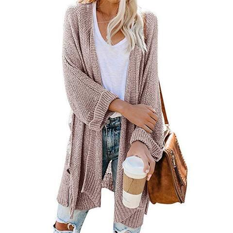 Fashion Cardigan Knit Sweater Jacket