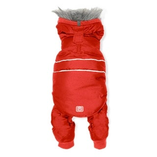 Whistler Dog Snowsuit - Candy Red - 3X-Large