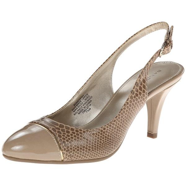 Bandolino Womens Nekesh Closed Toe Ankle Strap Classic Pumps