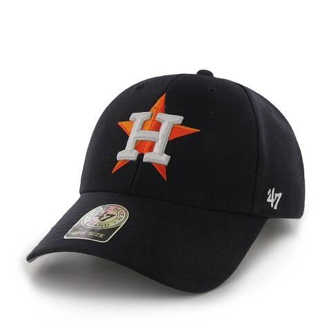 Houston Astros MVP Adjustable Hat, One Size, Navy