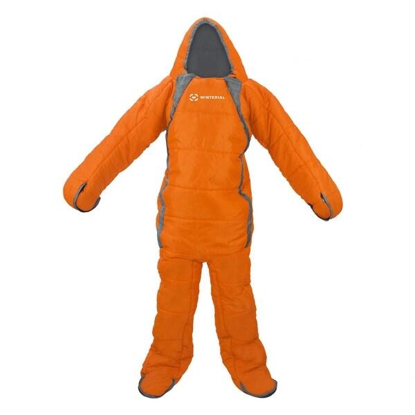 Winterial Body Bag Sleeping Bag / 20-50 Degrees Fahrenheit / Adult / 3 Season / Camping / Backpacking