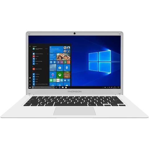 Thomson 14.1 inch 1.44GHz Intel Atom Quad Core Processor 4GB DDR3 RAM 64GB HDD Intel Atom Braswell E8000 Windows 10 Home