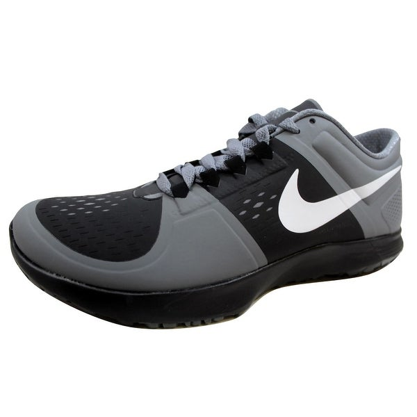 Nike Men's FS Lite Trainer Black/White-Cool Grey 615972-006 Size 9.5