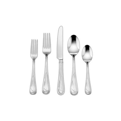 Cuisinart Cacile Collection Stainless Steel Flatware Set, 45-Piece Set