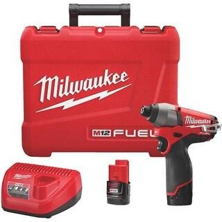 Milwaukee Elec.Tool M12 Impact Driver Kit 2553-22 Unit: EACH