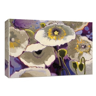 "PTM Images 9-153653  PTM Canvas Collection 8"" x 10"" - ""Poppolo"" Giclee Flowers Art Print on Canvas"
