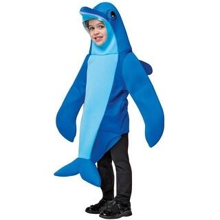 Rasta Imposta Dolphin Toddler Costume - Blue - 4-6x