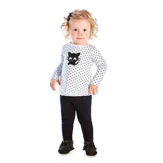 Baby Girl Long Sleeve T-Shirt Newborn Graphic Tee Infant Pulla Bulla 3-12 Months (More options available)
