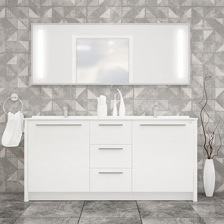 Link to Nona 60-inch Modern Freestanding Bathroom Vanity Similar Items in Bathroom Vanities