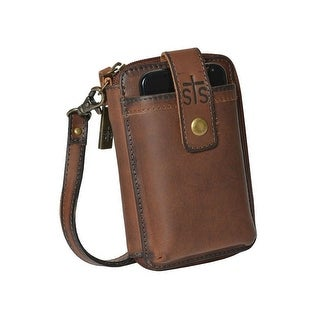 StS Ranchwear Western Leather Cell Phone Case Brown