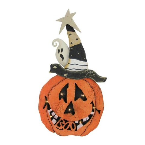 Northlight 32618607 Battery Operated Pumpkin Halloween Decoration