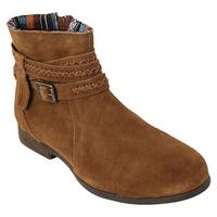 Minnetonka Women's Dixon Boot Dusty Brown Suede