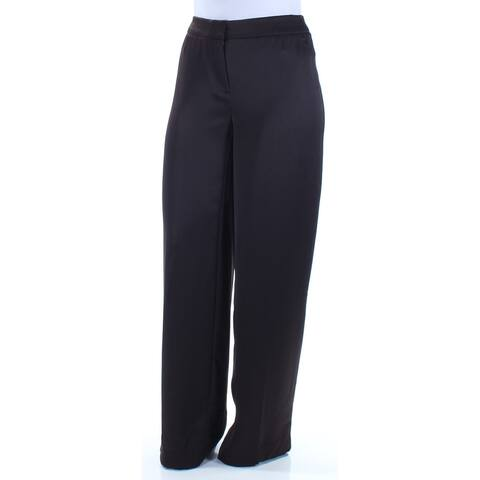 ALFANI Womens Brown Wear To Work Pants Size 6