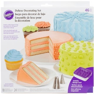 Deluxe Cake Decorating Set 46Pcs