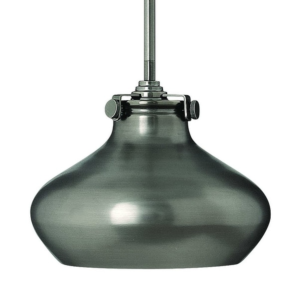 Hinkley Lighting 3138 1-Light Indoor Mini Pendant with Metal Shade from the Congress Collection - n/a