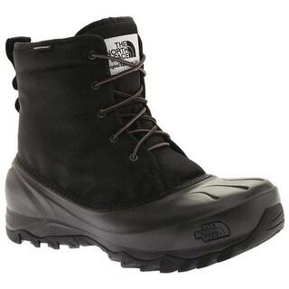 The North Face Men's Tsumoru Waterproof Boot TNF Black/Dark Shadow Grey