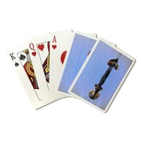 Sea Otter Relaxing - Lantern Press Photography (Poker Playing Cards Deck)