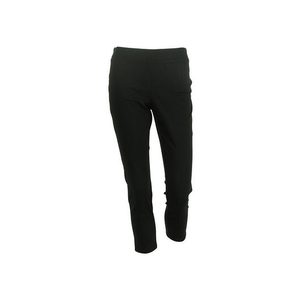 Style & Co. Women's Tummy Control Skinny Leg Pants - Deep Black