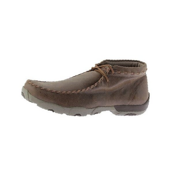 Twisted X Casual Shoes Mens Chukka Driving Mocs Bomber