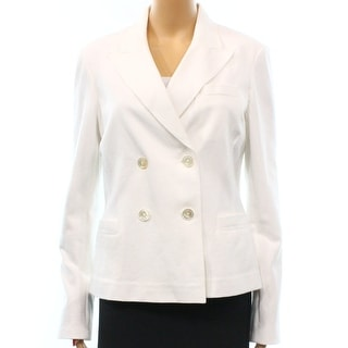 POLO Ralph Lauren NEW White Women's Size 12 Double Breasted Jacket