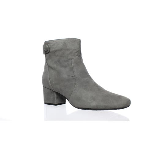 Bandolino Womens Fauna Steel Ankle Boots Size 9.5