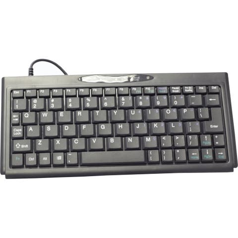 SolidTek KB-P3100BU Solidtek Super Mini Keyboard 77 Keys KB-P3100BU - USB - 77 Key - PC