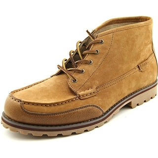 Polo Ralph Lauren Waterton Men  Moc Toe Leather Brown Chukka Boot