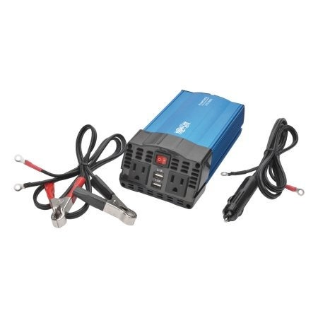 Tripp Lite - 375W Car Power Inverter 2 Outlets 2-Port Usb Charging Ac To Dc