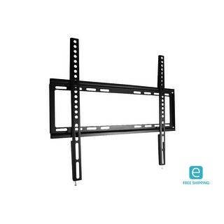 Monoprice Essentials Slim Fixed TV Wall Mount, Small - UL Certified