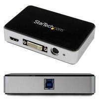 Startech Hdmi Video Capture Device – 1080P – 60Fps Game Capture Card – Usb Video Capture Card – With Hdmi Dvi Vga