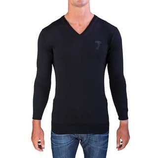 Versace Men's Medusa Head V-Neck Sweater Black|https://ak1.ostkcdn.com/images/products/is/images/direct/3d53d6cb4c7909338dba7b8d4ea5d23a788ee93e/Versace-Men%27s-Medusa-Head-V-Neck-Sweater-Black.jpg?impolicy=medium