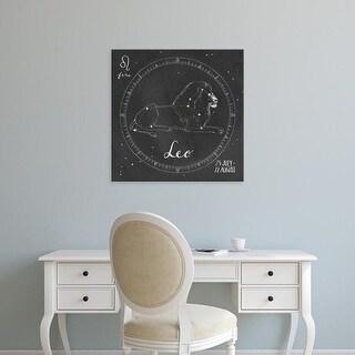 Easy Art Prints Sara Zieve Miller's 'Night Sky Leo' Premium Canvas Art