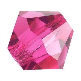 Preciosa Czech Crystal 4mm Bicone Beads 'Rose Pink' (50)