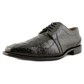 Giorgio Brutini Heft Men  Square Toe Synthetic Black Oxford