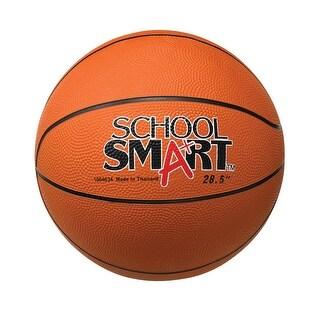 School Smart 29-1/2 inch Men's Rubber Basketball, Tan