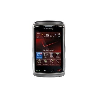 OEM Verizon BlackBerry Storm 9550 Snap-On Case - Chrome (Bulk Packaging)