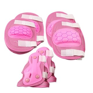Skating Sports Protective Gear Wrist Guard Elbow Knee Pads Combo For little girls Kids