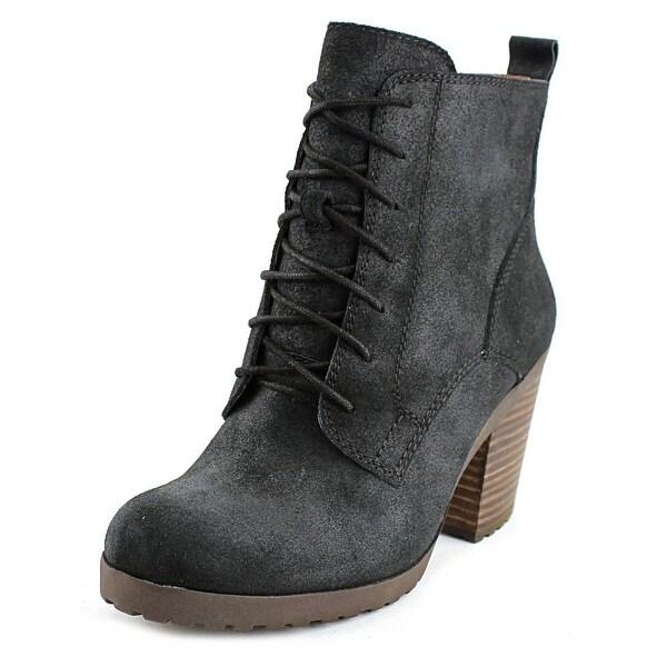Lucky Brand Orsander Women Black Boots