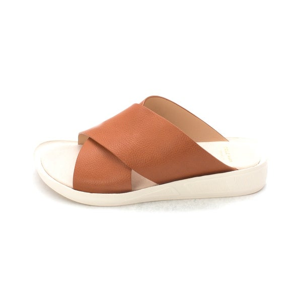 Cole Haan Womens Breasam Open Toe Casual Slide Sandals - 6