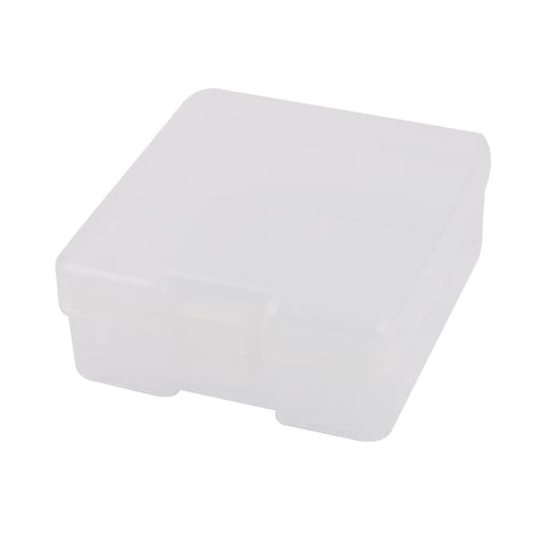 Clear Plastic Storage Box Case Container Holder for 100 x AAA Battery Batteries