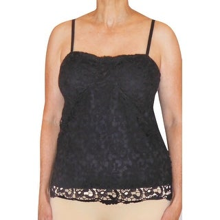 Funfash Plus Size Black Clothing Lace Bustier Corset Top Blouse Shirt New Made in USA