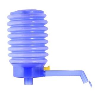 Unique Bargains Outdoor Indoor Blue Plastic Drinking Water Press Pump w 48cm Tubes