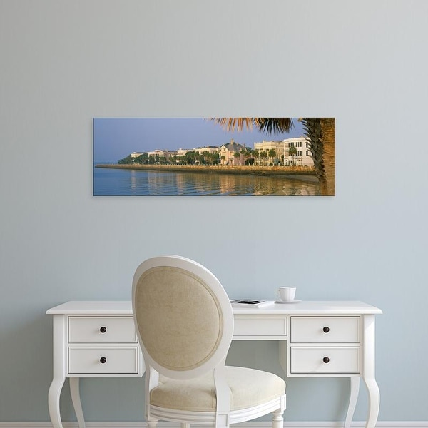 Easy Art Prints Panoramic Images's 'Buildings at the waterfront, The Battery, Charleston, South Carolina' Canvas Art