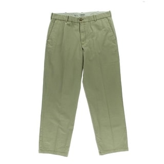 Izod Mens Cotton Straight Fit Chino Pants - 36/32