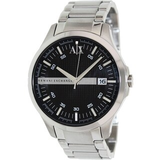 Armani Exchange Men's AX2103 Silver Stainless-Steel Fashion Watch