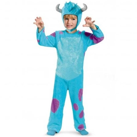 Disguise 216941 Monsters U Sulley Toddler Classic Costume Large - 4-6